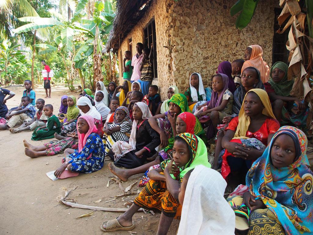 Tansania: Dorf auf Chole-Island im Sansibar-Archipel