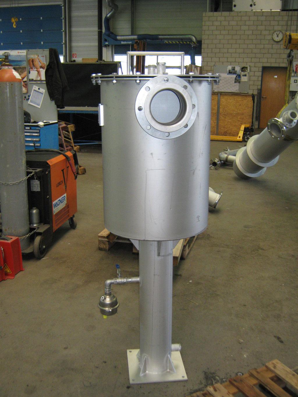 Remoción de espumas - biogás