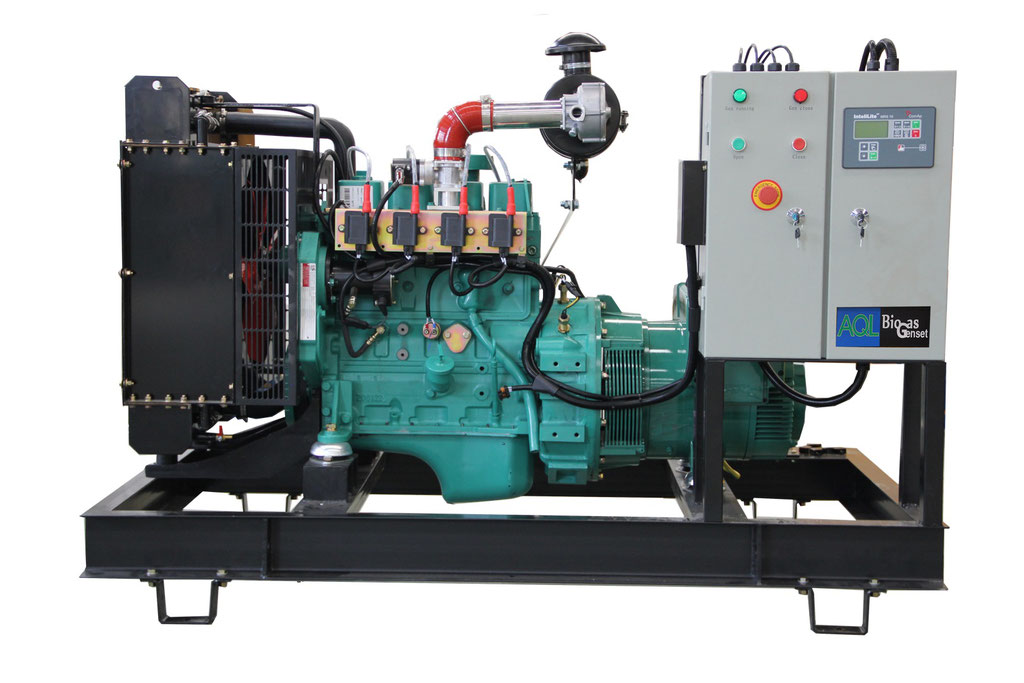 Generador a biogas motor Cummins