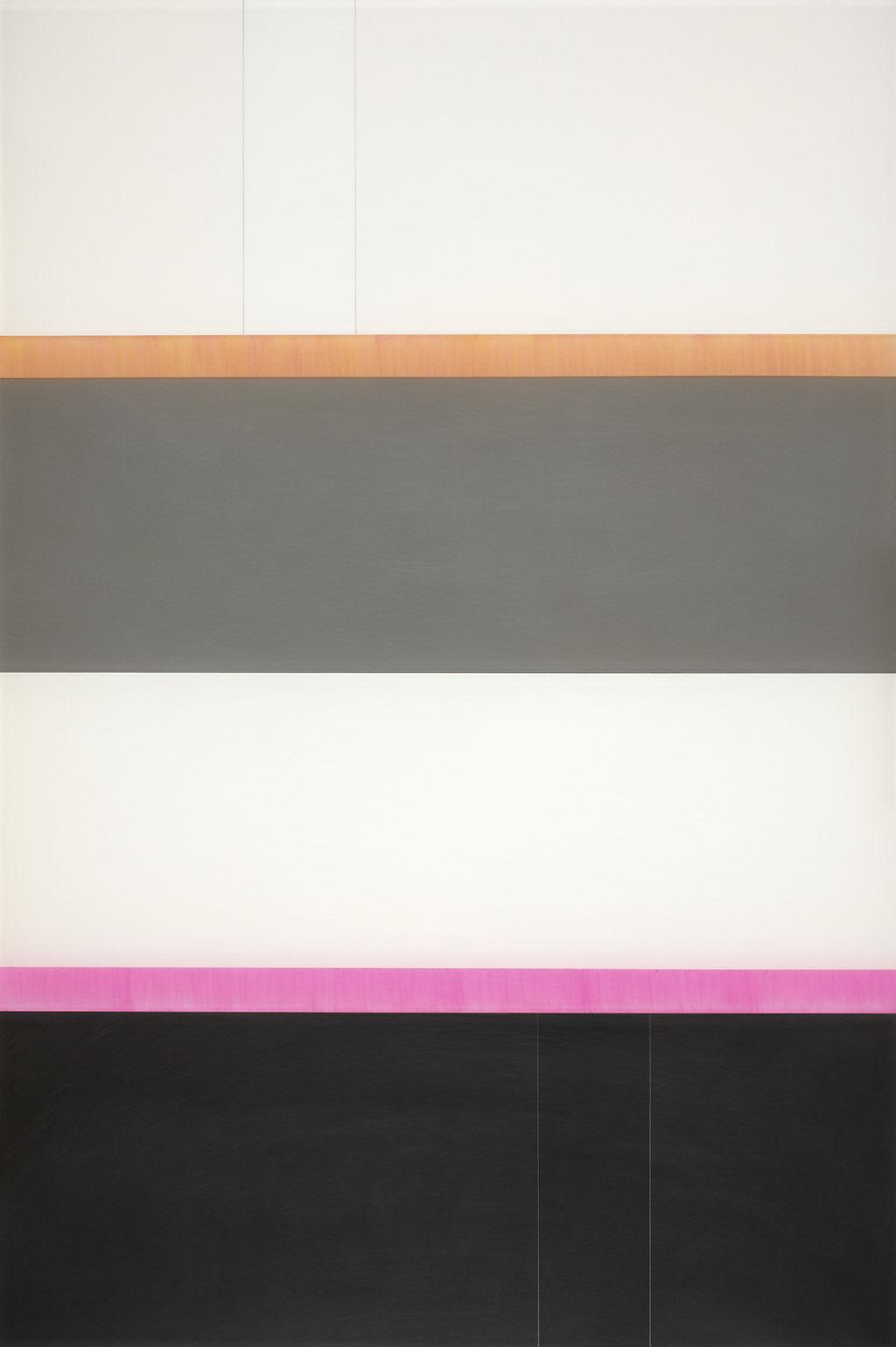 Manifold:0001 - acrylic on acrylic sheet - 60 x 40 cm