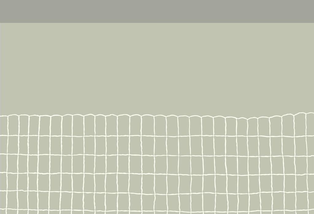 Rabbit Fence - 37.4 x 54.8 cm