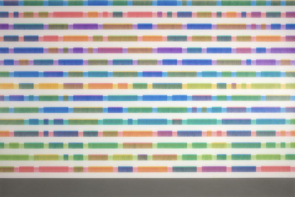 Manifold:0010 - acrylic on acrylic sheet - 100 x 150 cm