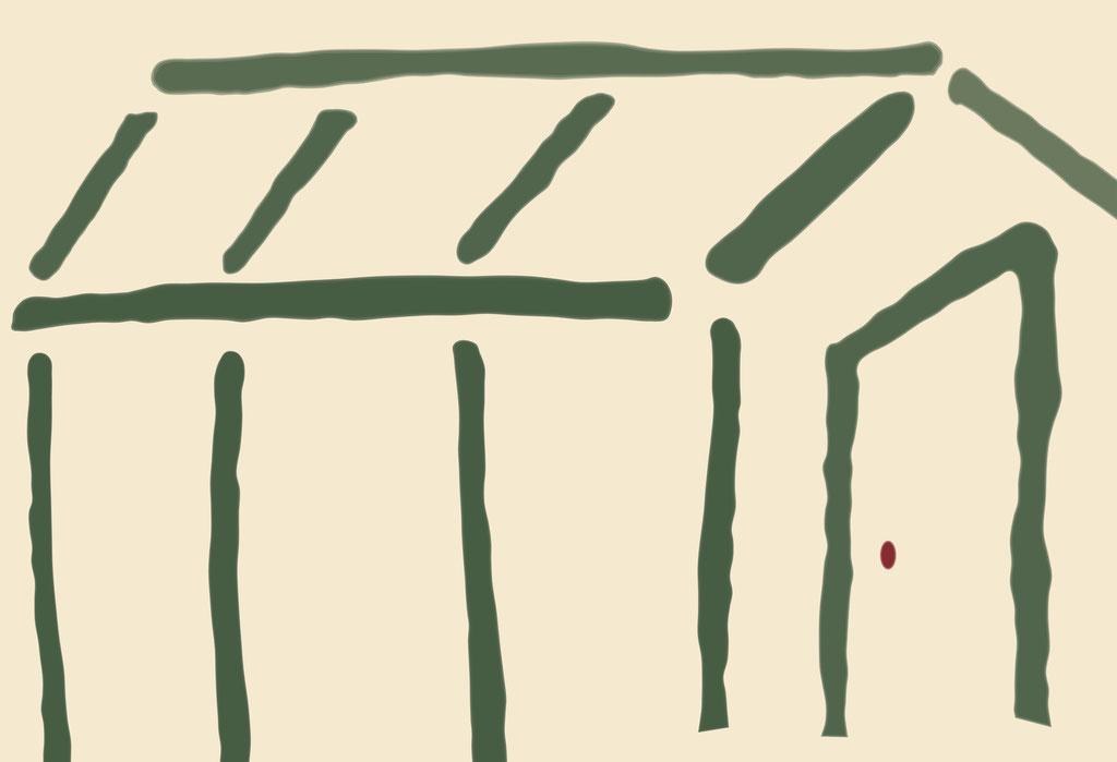 Greenhouse - 37.4 x 54.8 cm