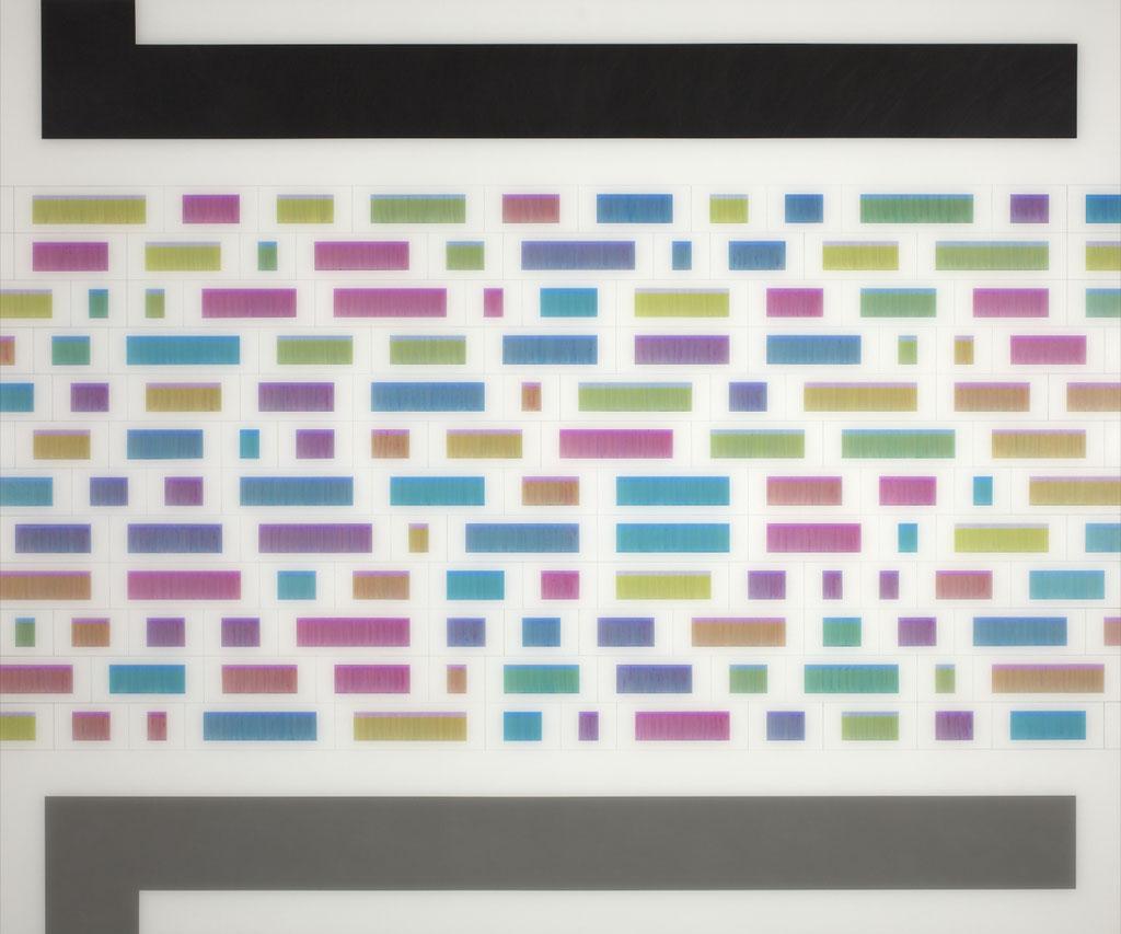 Manifold:0013 - acrylic and pencil on acrylic sheet
