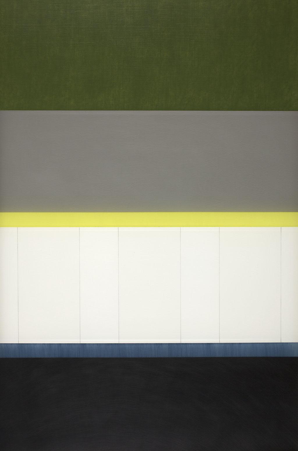 Manifold:0002 - acrylic on acrylic sheet - 60 x 40 cm