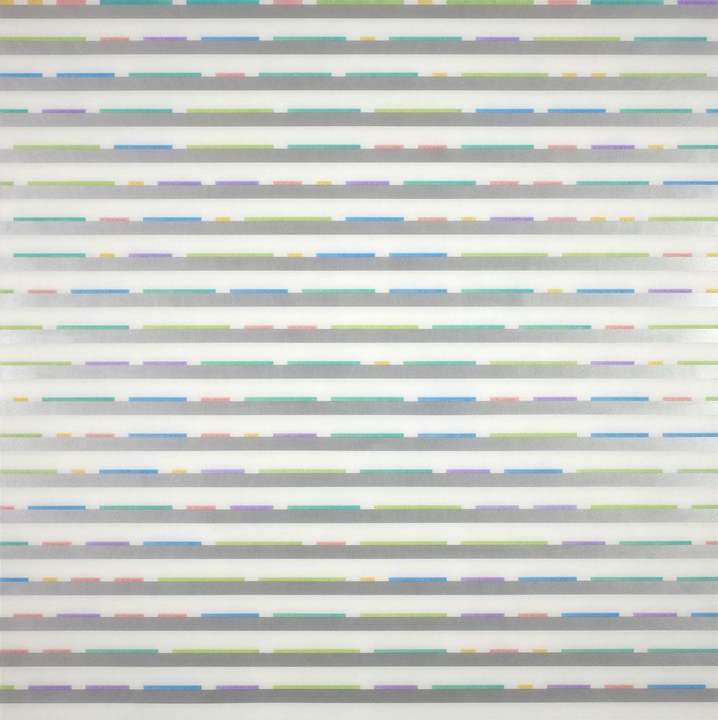 Manifold:0007 - acrylic on acrylic sheet - 100 x 100 cm