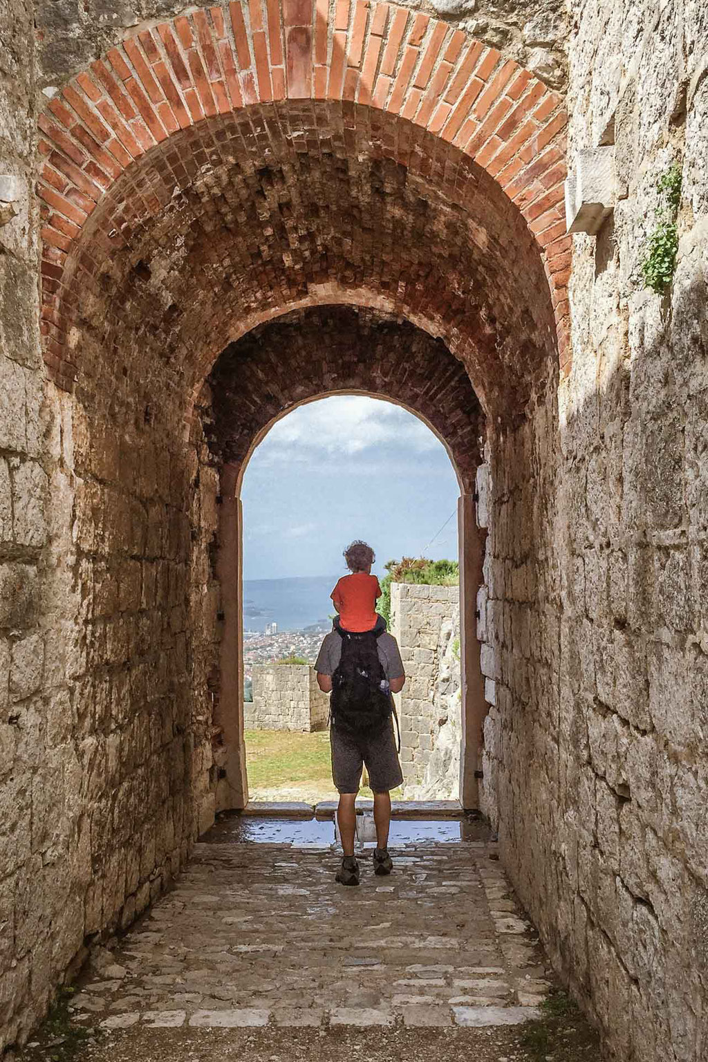 Exploring Klis Fortress with Kids