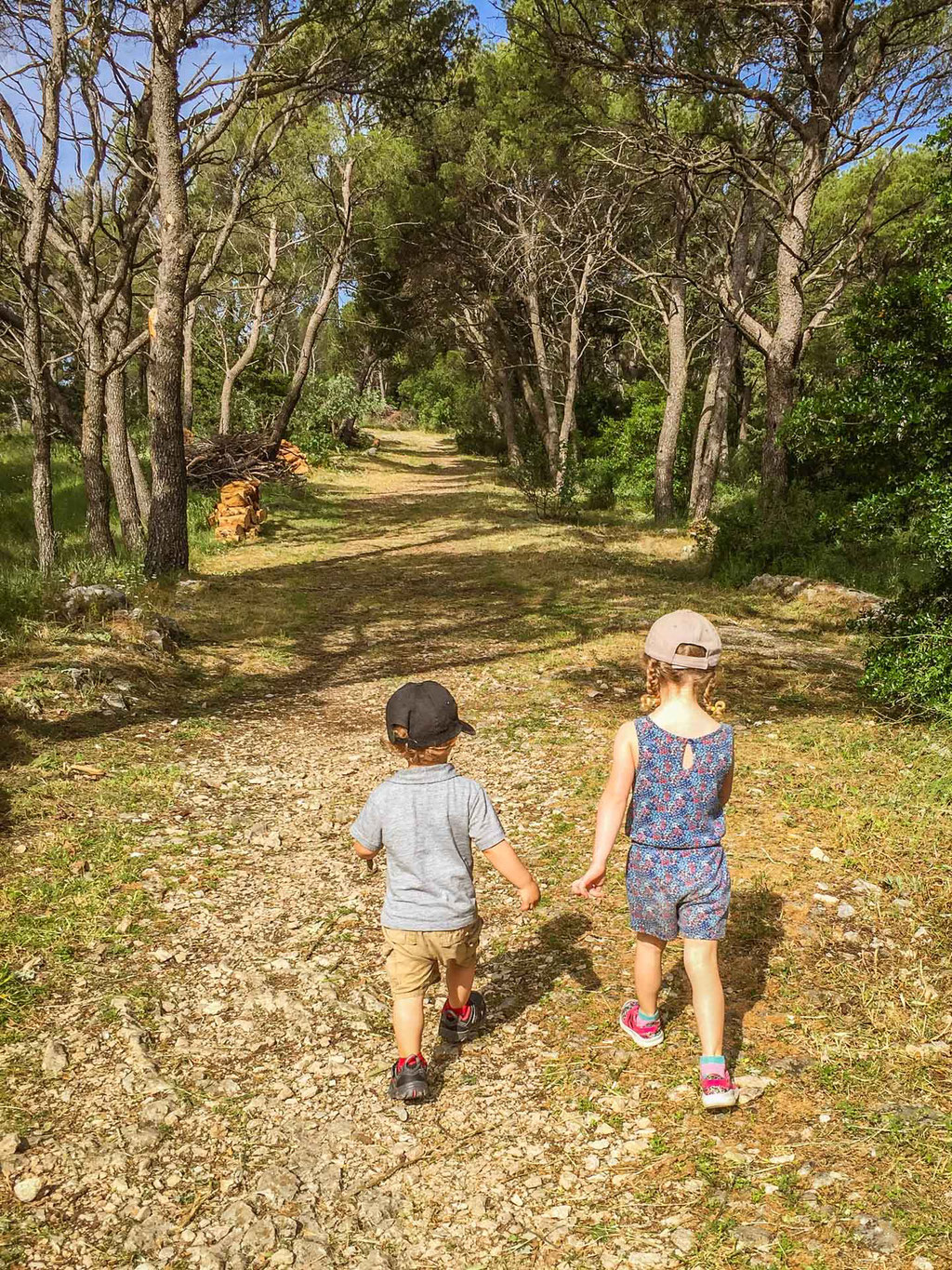 Hiking Marjan Park in Split Croatia with kids