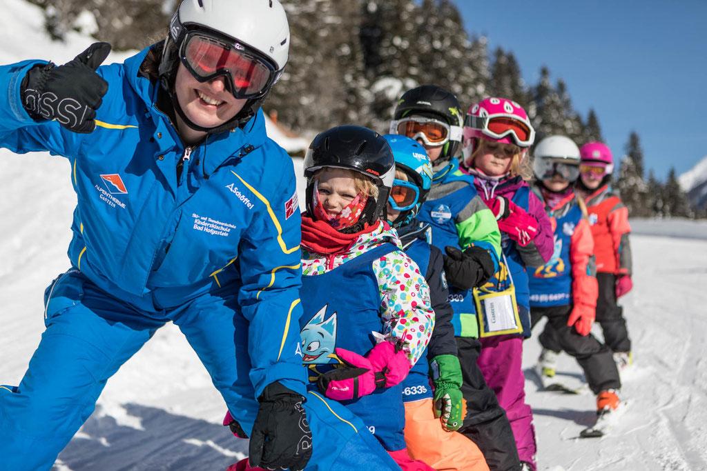 Skikurse für Groß & Klein