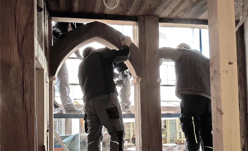 Wirleitner saniert und renoviert - mit echtem original Altholz