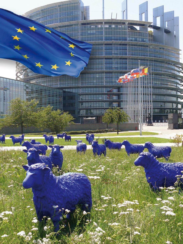 Strassburg_EU Parlament