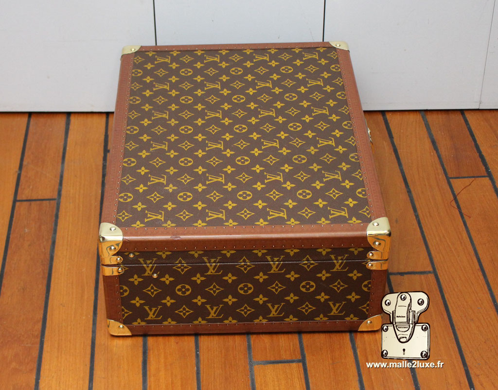 Valise bisten 60 Louis Vuitton 1960 coin
