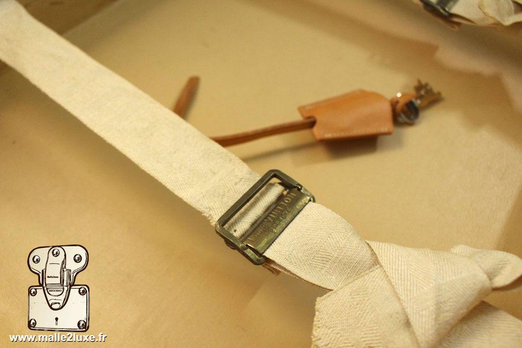 Valise bisten Louis Vuitton 1955 boucle 50