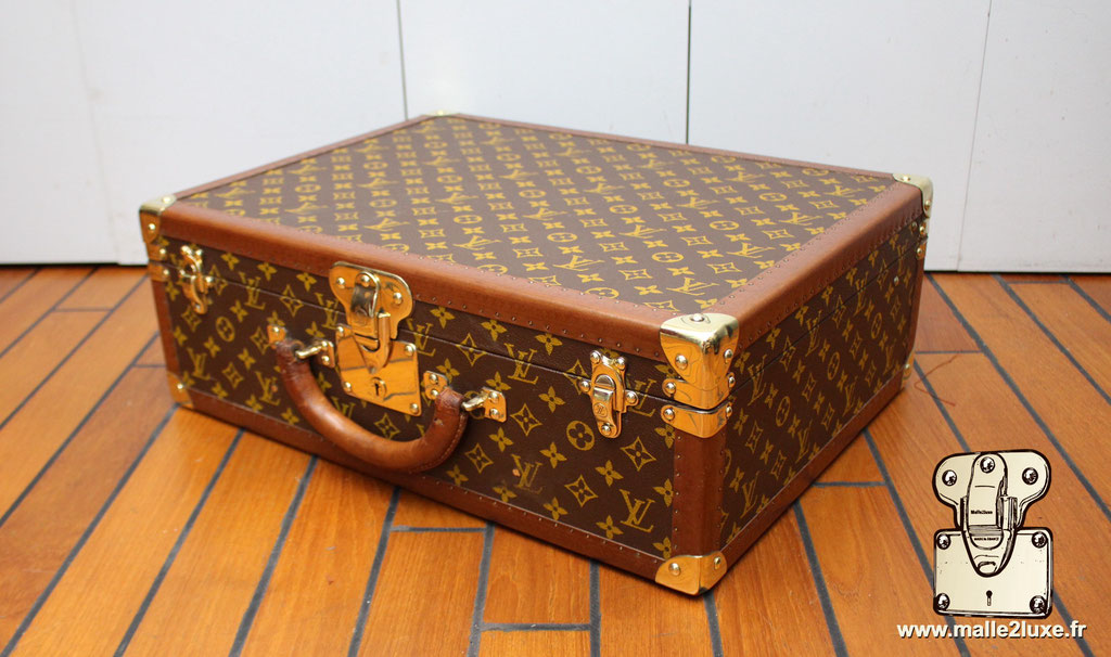 Valise bisten 60 Louis Vuitton 1960 superbe