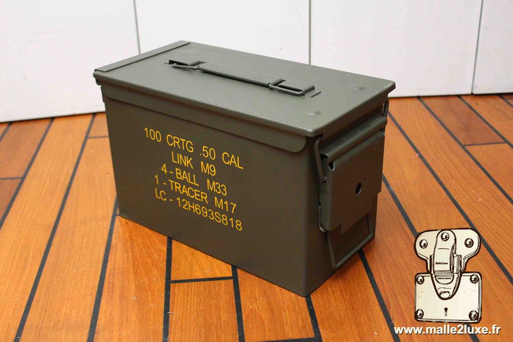 boite militaire pour montre de luxe