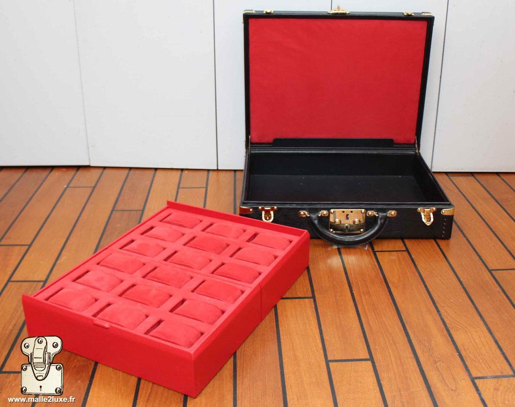 valise a montre rolex vintage Louis Vuitton