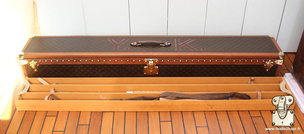Malle Louis Vuitton canne à pêche 1931