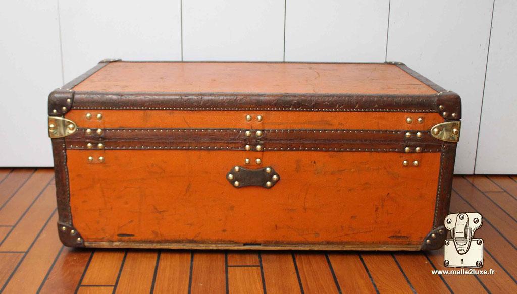 malle cabine Louis Vuitton  arrière ancienne