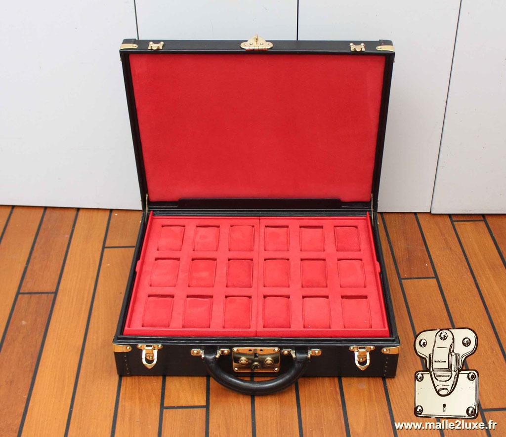 exceptionnelle Valise a 18 montres Louis Vuitton