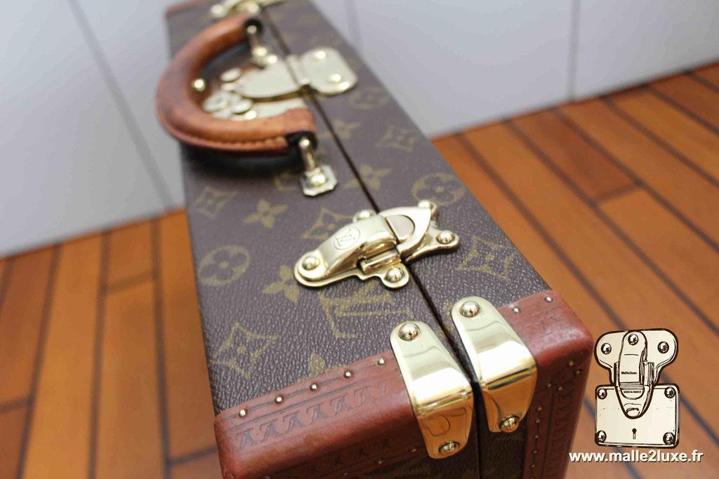Despatch box Louis Vuitton valise fermoir laiton massif