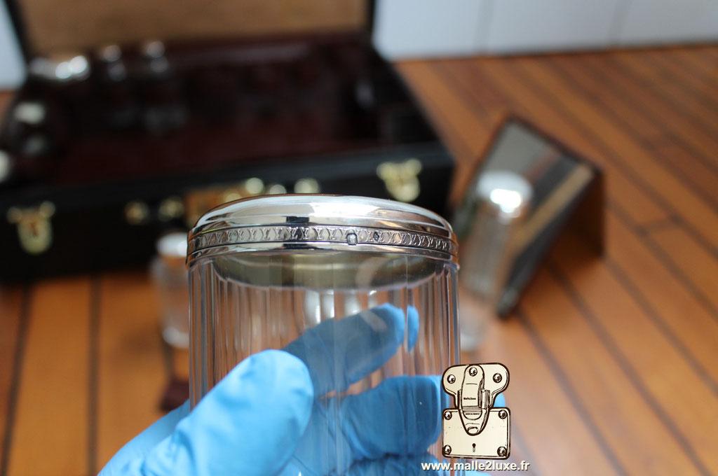 couvercle guillocher Louis Vuitton