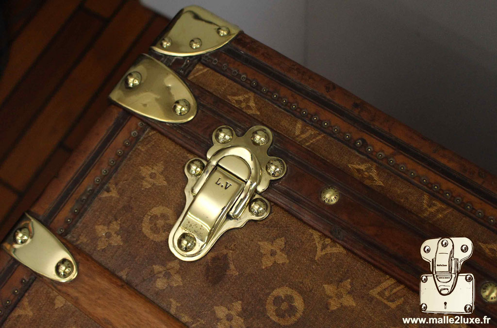 Malle courrier louis vuitton malle de luxe