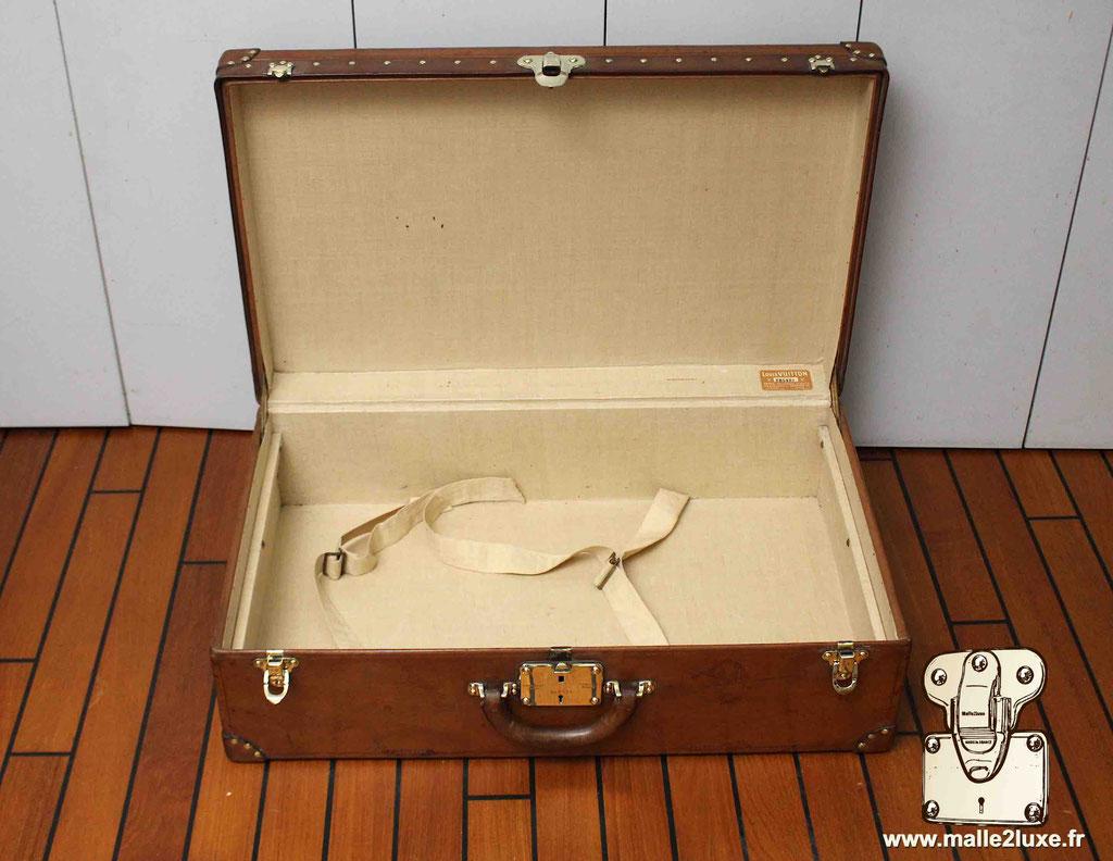 Valise alzer cuir Louis Vuitton intérieur