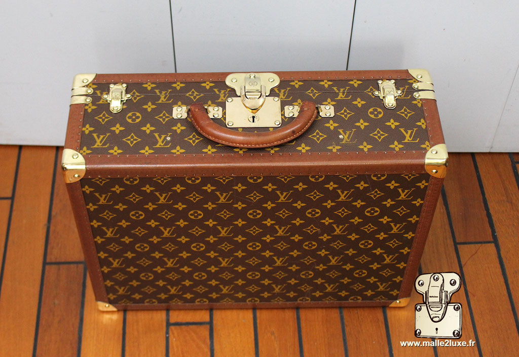 Valise bisten 60 Louis Vuitton 1960 a vendre