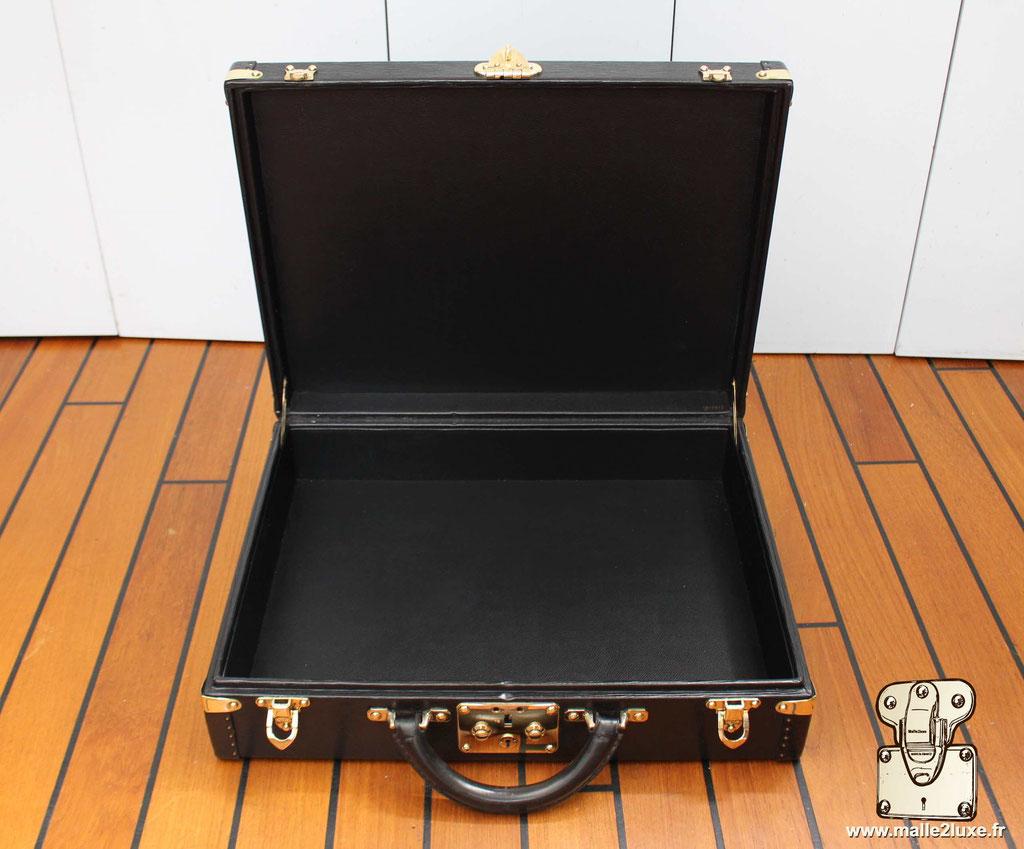 Valise président Louis Vuitton cuir epi noir superbe