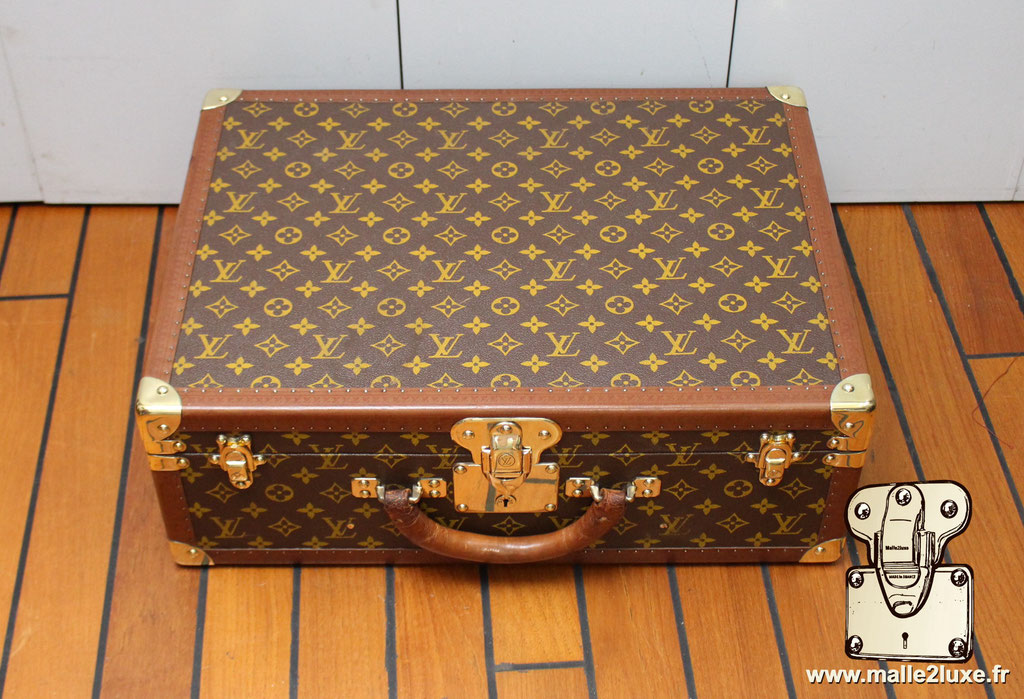 Valise bisten 60 Louis Vuitton 1960 dessus top
