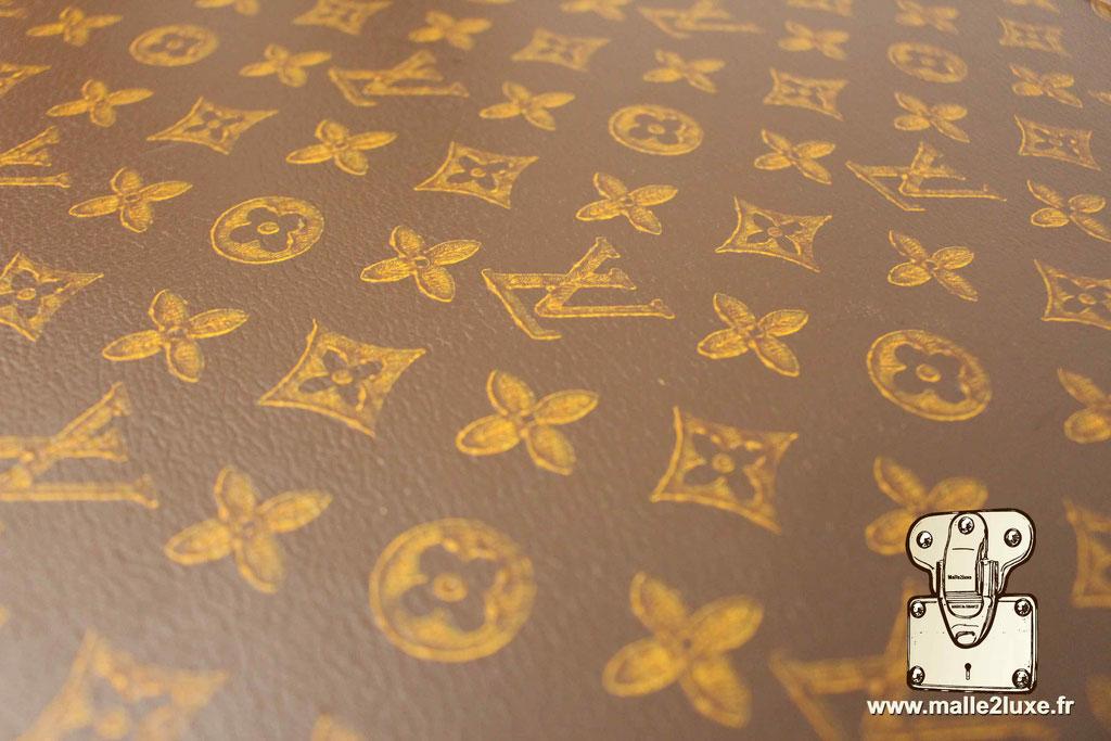 Valise bisten Louis Vuitton 1955 toile