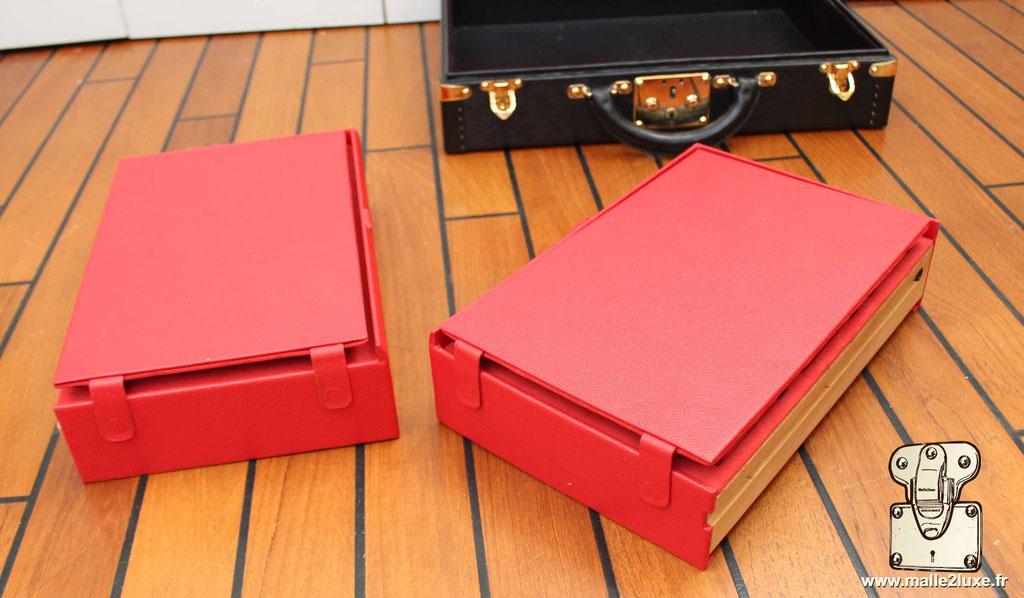 Box suitcase Louis Vuitton for rolex watch