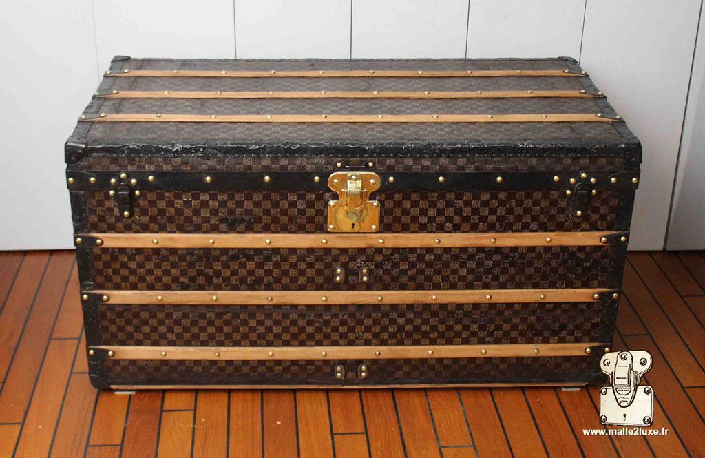 Malle courrier Louis Vuitton vintage