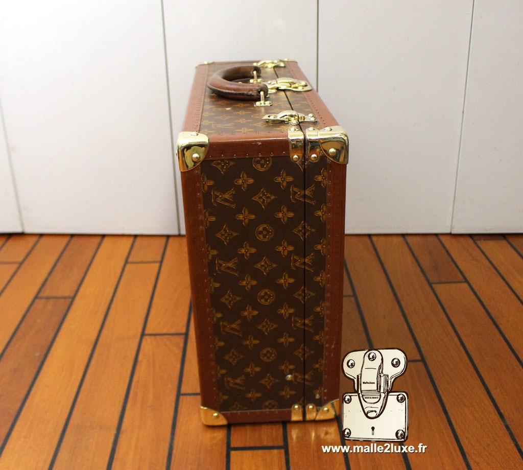 Valise bisten Louis Vuitton 1955 coté valise