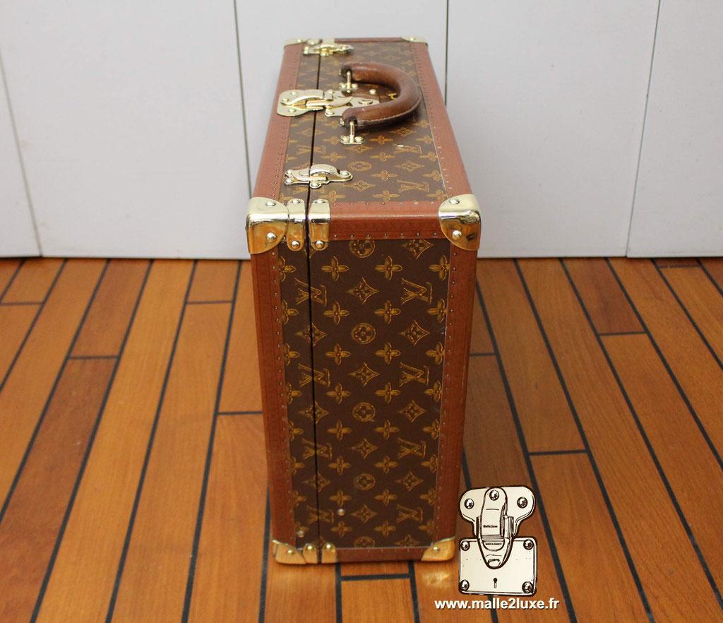 Valise bisten Louis Vuitton 1955 coté