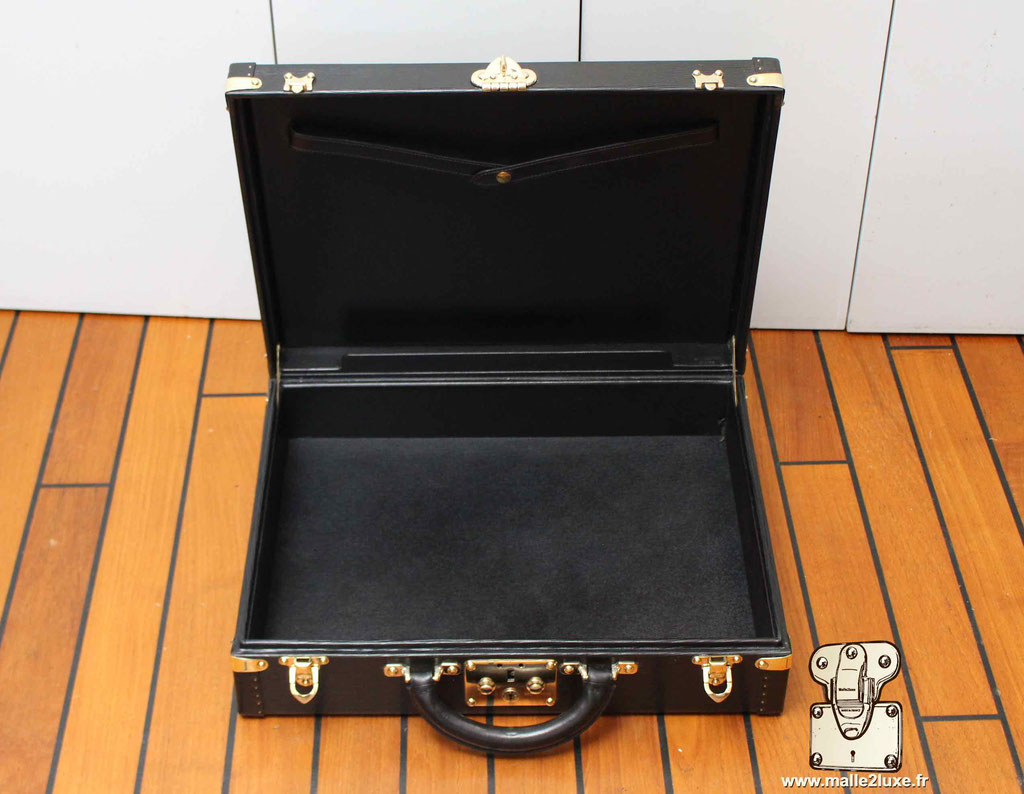 Valise président Epi noir Louis Vuitton vintage