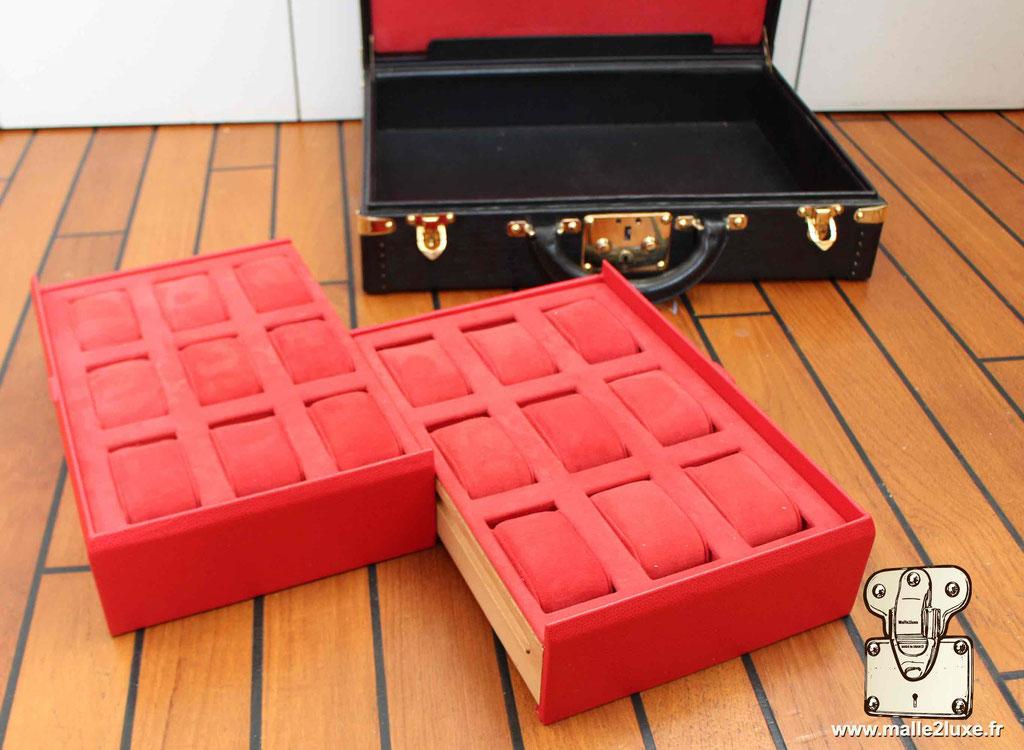Louis Vuitton Patek box collection Rolex