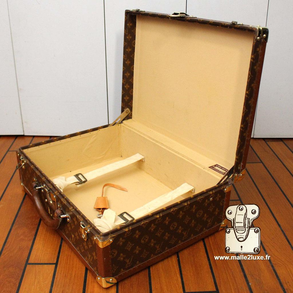 Valise bisten Louis Vuitton 1955 pochoir