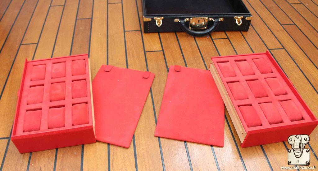 box Louis Vuitton audemar biget rolex