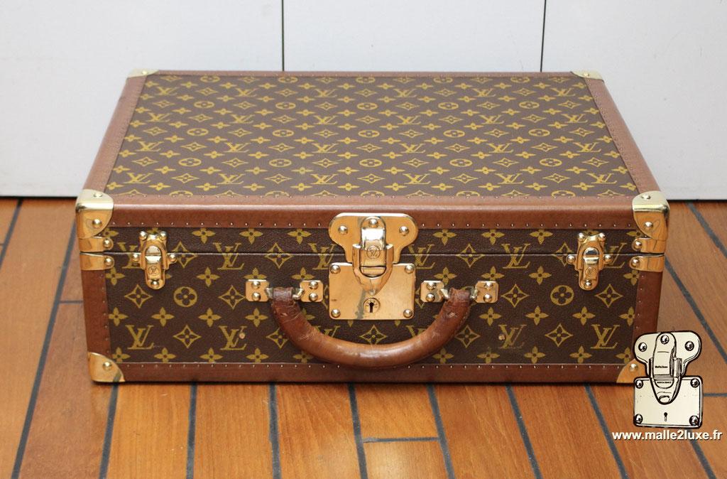 Valise bisten 60 Louis Vuitton 1960 vintage magnifique