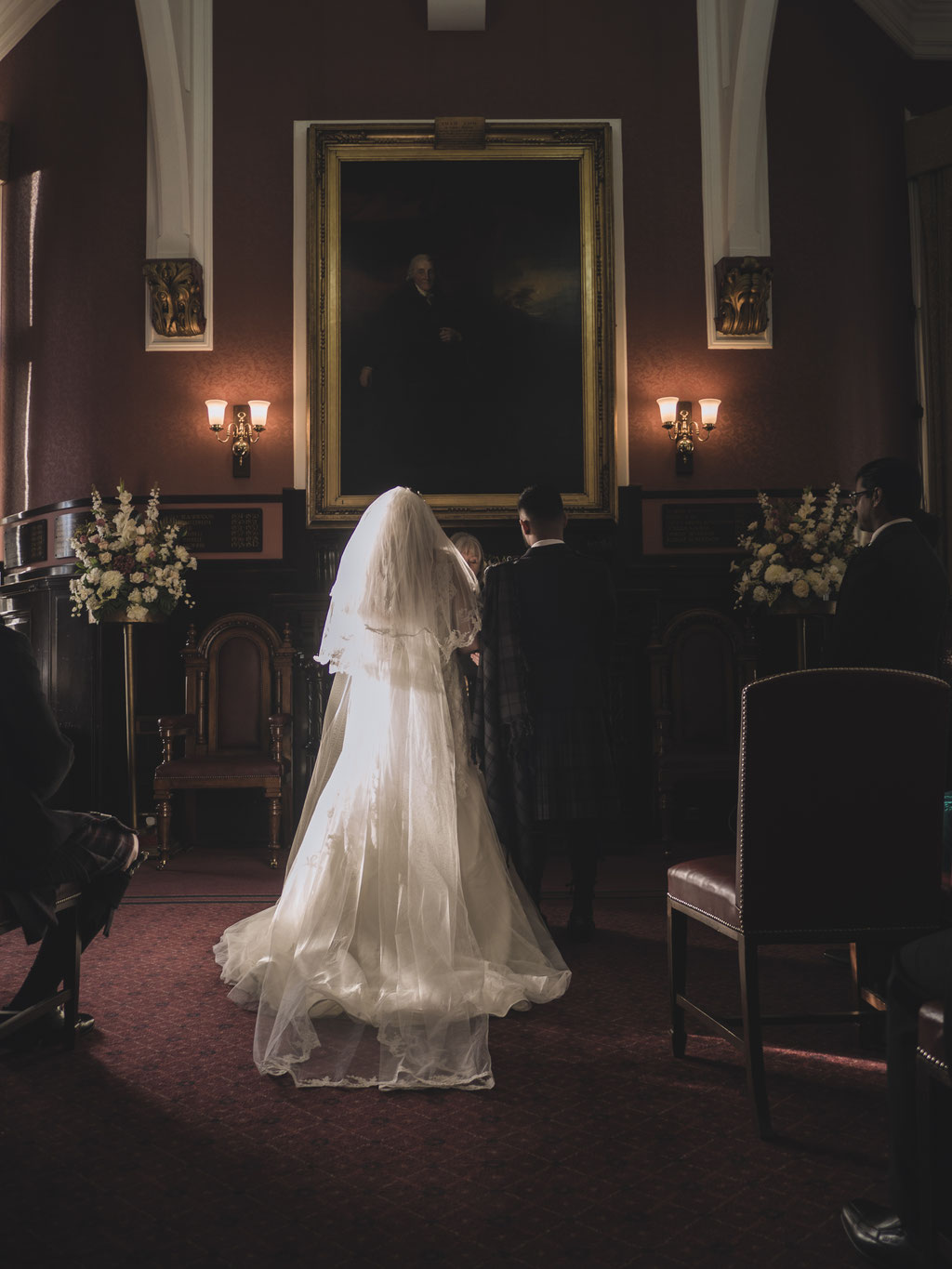 dunfermline city chambers wedding room