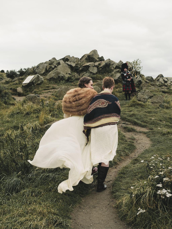 Edinburgh Elopement Wedding Photographer low budget
