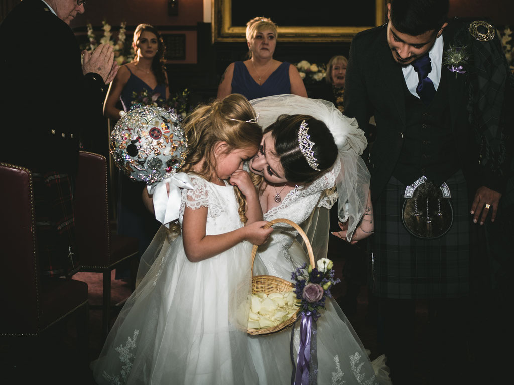 wedding reportage photographer scotland edinburgh