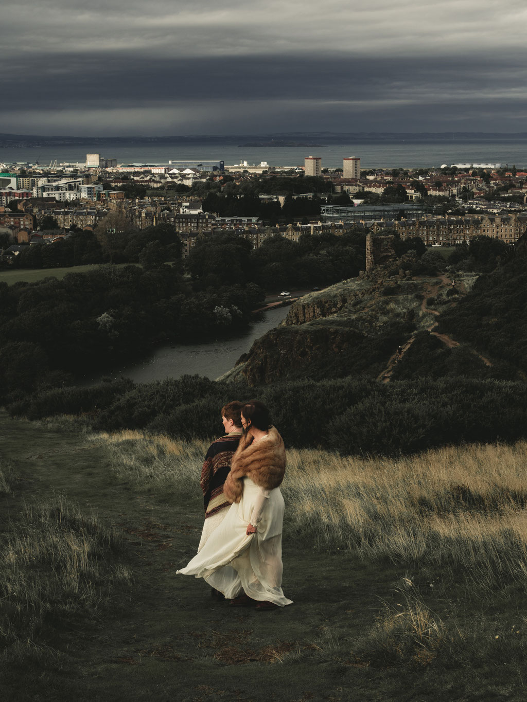 Edinburgh Low Budget Wedding Photographer
