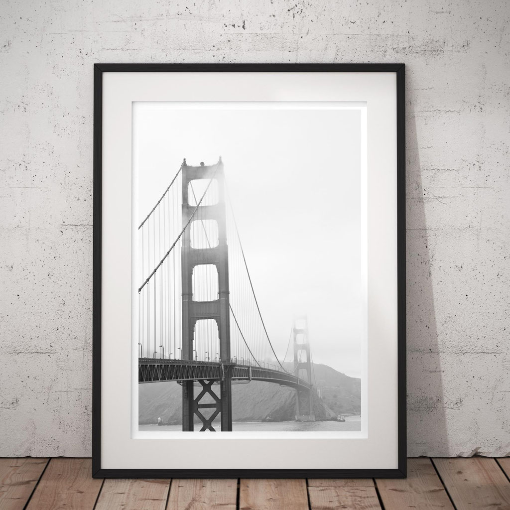 Golden Gate Bridge Art Print By PASiNGA