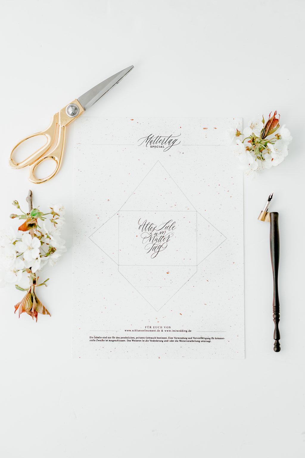 Gratis Download Kalligrafie Briefumschläge