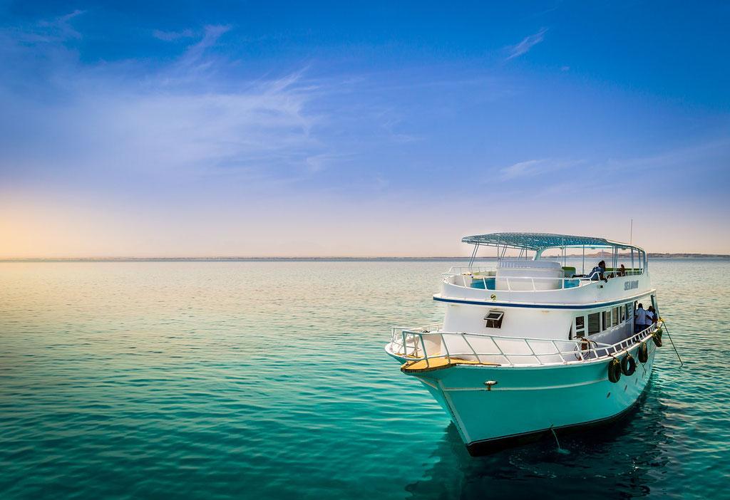 Ausflugsboot | tauchen | schnorcheln | Rotes Meer