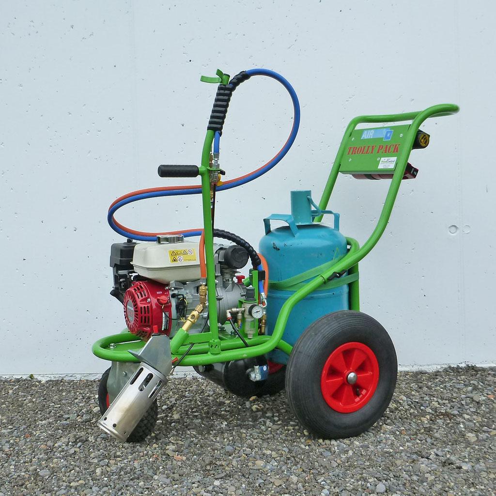 Abflammgerät EcoFlame Air Trolly Pack