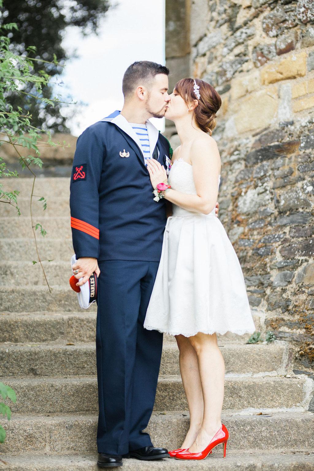 Manoir de la fresynaye mariage Bretagne Orlane Boisard séance couple