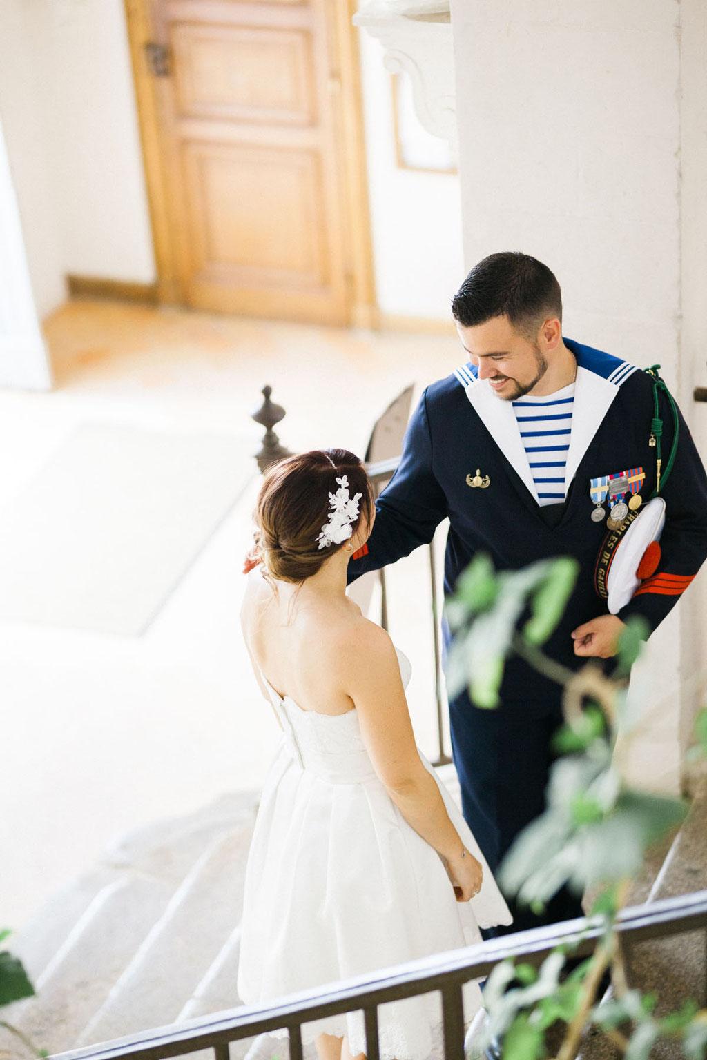 Manoir de la fresynaye mariage Bretagne Orlane Boisard couple 2
